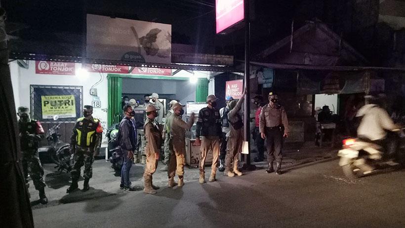 PPKM Di Malang Kota Sampai 2 Agustus, Tim Gabungan Giatkan Razia