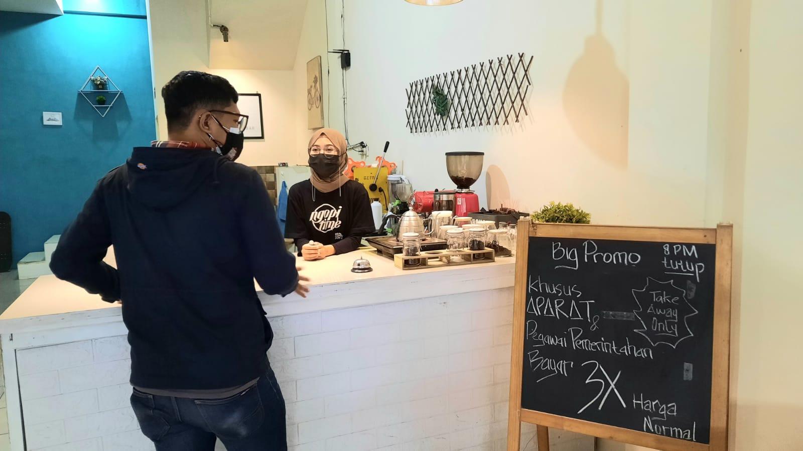 Kafe di Malang IniWajibkan Aparat dan PNS Bayar 3 Kali Lipat