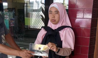 Perempuan Nyolong Uang Kotak Amal Masjid Di Madyopuro Kota Malang