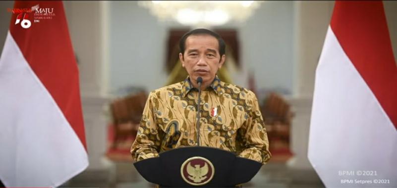 Presiden Jokowi Perpanjang PPKM Level 4 Sampai 2 Agustus 2021