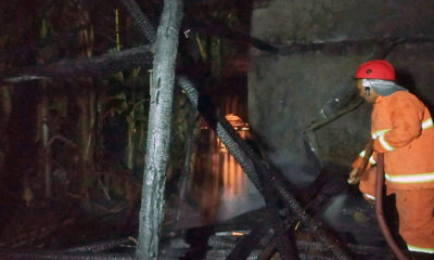 Kebakaran Rumah Di Ngajum Malang, Kerugian Puluhan Juta Rupiah