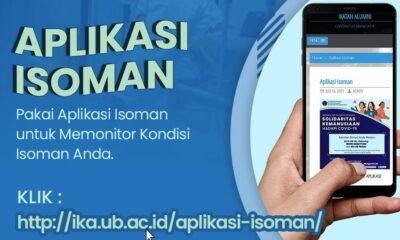 Satgas Covid IKA UB Bikin Aplikasi Isoman Untuk Mahasiswa Dan Alumni