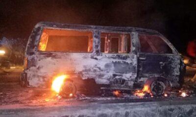 Kebakaran Di Malang, Satu Mobil Membara Akibat Korsleting