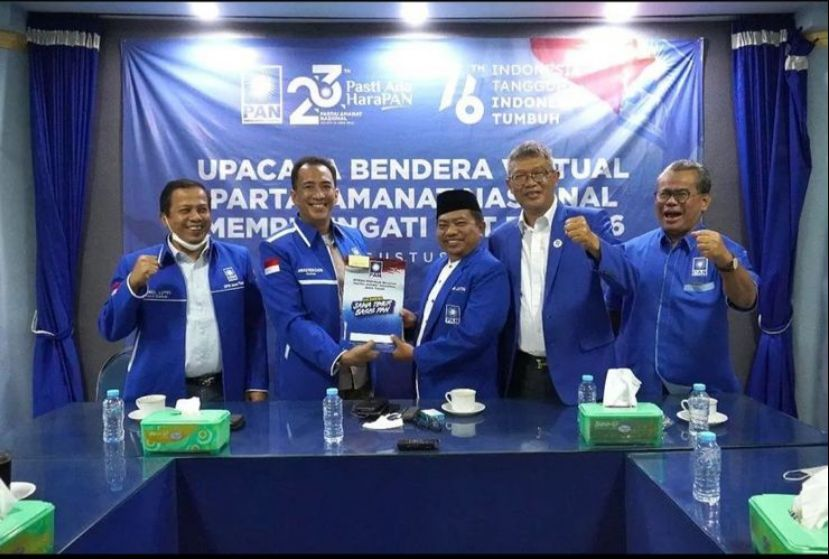 Lookh Mahfudz Ketua DPP PAN Kota Malang 2020-2025