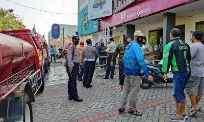 English First Sawojajar Malang Kebakaran, Ini Kronologinya