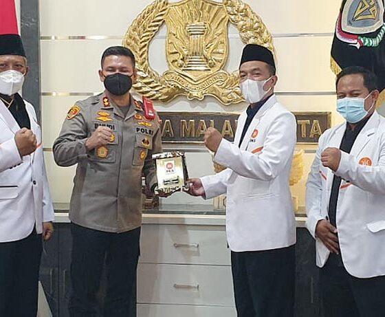 PKS Kota Malang Temui Kapolresta Buher, Ini Isi Obrolannya