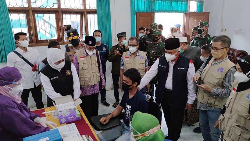 Kampus IAI Al Qolam Malang Vaksinasi 1000 Dosis