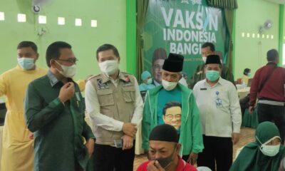 Ali Ahmad Gelar Vaksinasi Di DPC PKB Kota Malang
