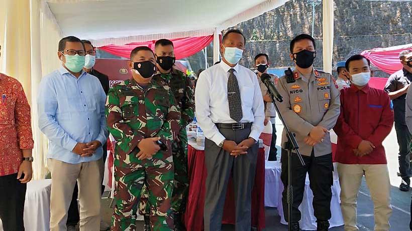 Kodim 0833 Kota Malang Dukung Penuh Vaksinasi Merdeka