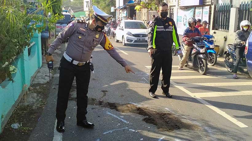 Kecelakaan Di Janti Kota Malang, Ini Hasil Olah TKP Polisi
